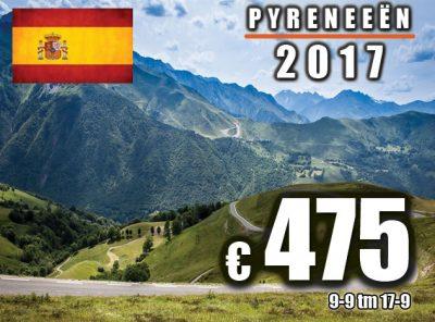 Spanje Pyreneeën (Girona) 9-9 t/m 17-9