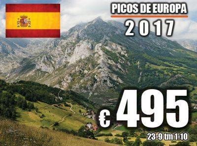 Spanje Picos de Europa (Bilbao) 23-9 t/m 1-10