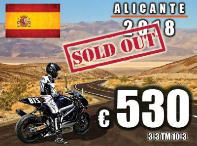 Spanje Alicante 3-3 t/m 10-3 [VOLGEBOEKT]