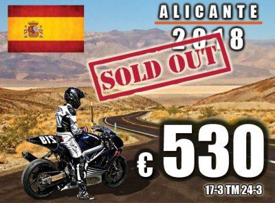 Spanje Alicante 17-3 t/m 25-3 [VOLGEBOEKT]