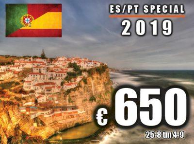 Spanje / Portugal Special 25-8 t/m 3-9