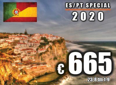 Spanje / Portugal Special 23-8 t/m 1-9