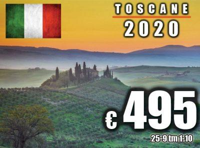 Italië Toscane (Pisa) 25-9 t/m 1-10